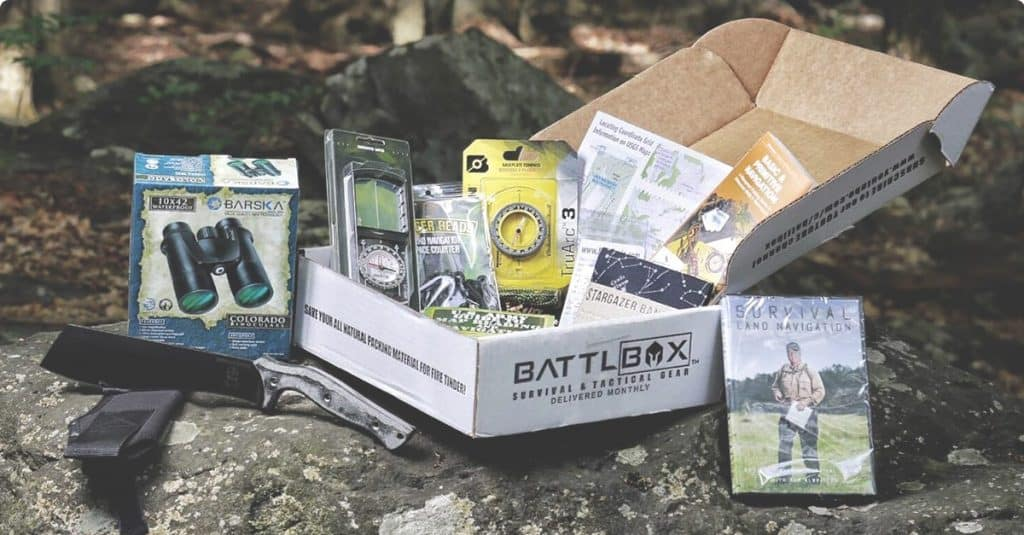 example contents of battlbox subscription box