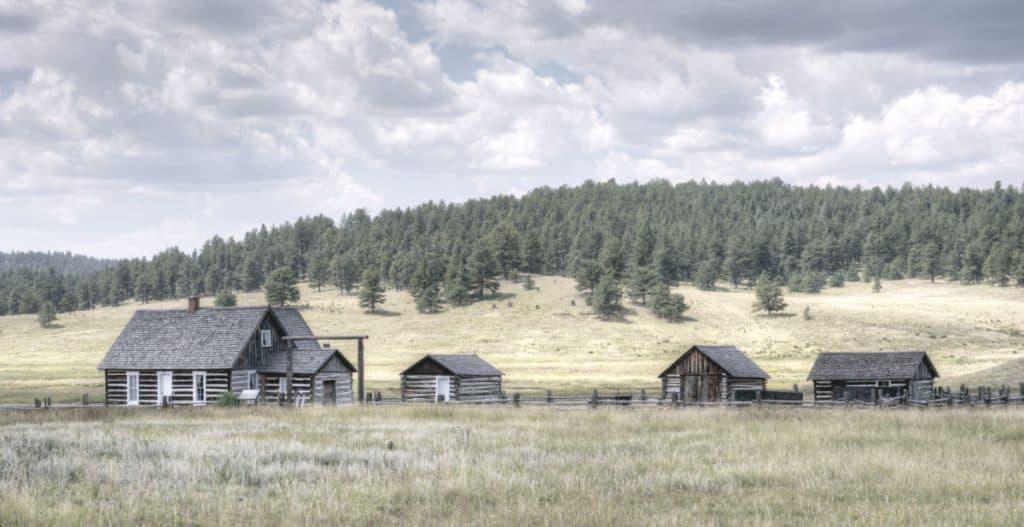 adeline hornbek homestead living off grid in large open fields