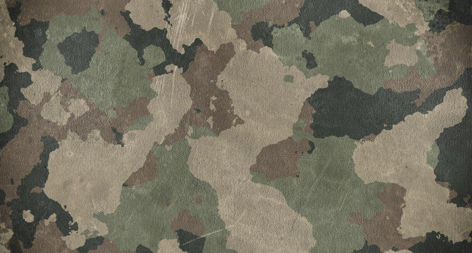 fabric pattern of military camouflage