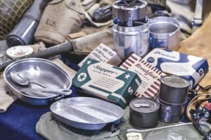 vintage survival foord kit and bug out pack contents